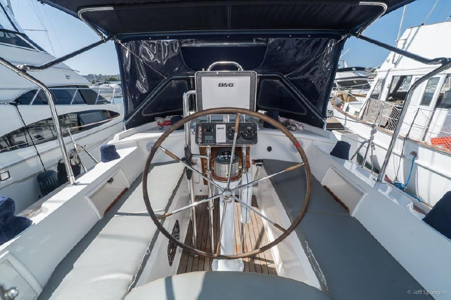 Tayana 48 Deck Salon Cockpit