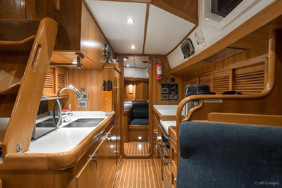 Tayana 48 Deck Salon Galley
