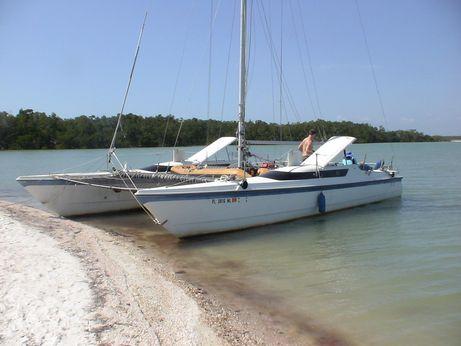 1981 Mac Gregor 36 catamaran