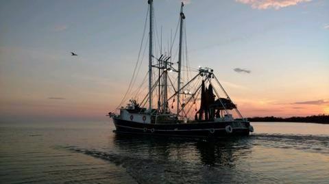1996 Shrimp Steel Shrimp Trawler