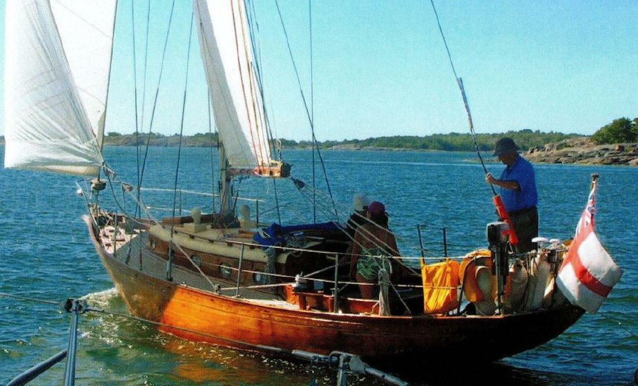 1960 Classic Wooden Yacht Sail Boat For Sale Wwwyachtworldcom