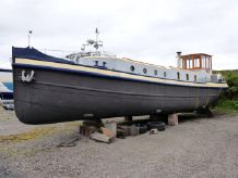 1922 Custom Luxe 50' Barge