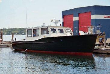 1949 Downeast Lobster Yacht - Former Maine Marine Patrol Boat