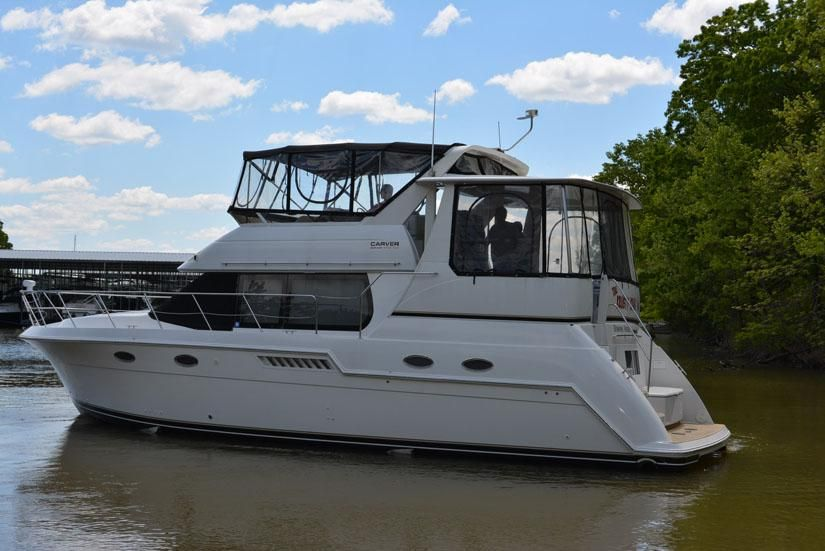 1999 Carver 406 Aft Cabin Motor Yacht Power Boat For Sale