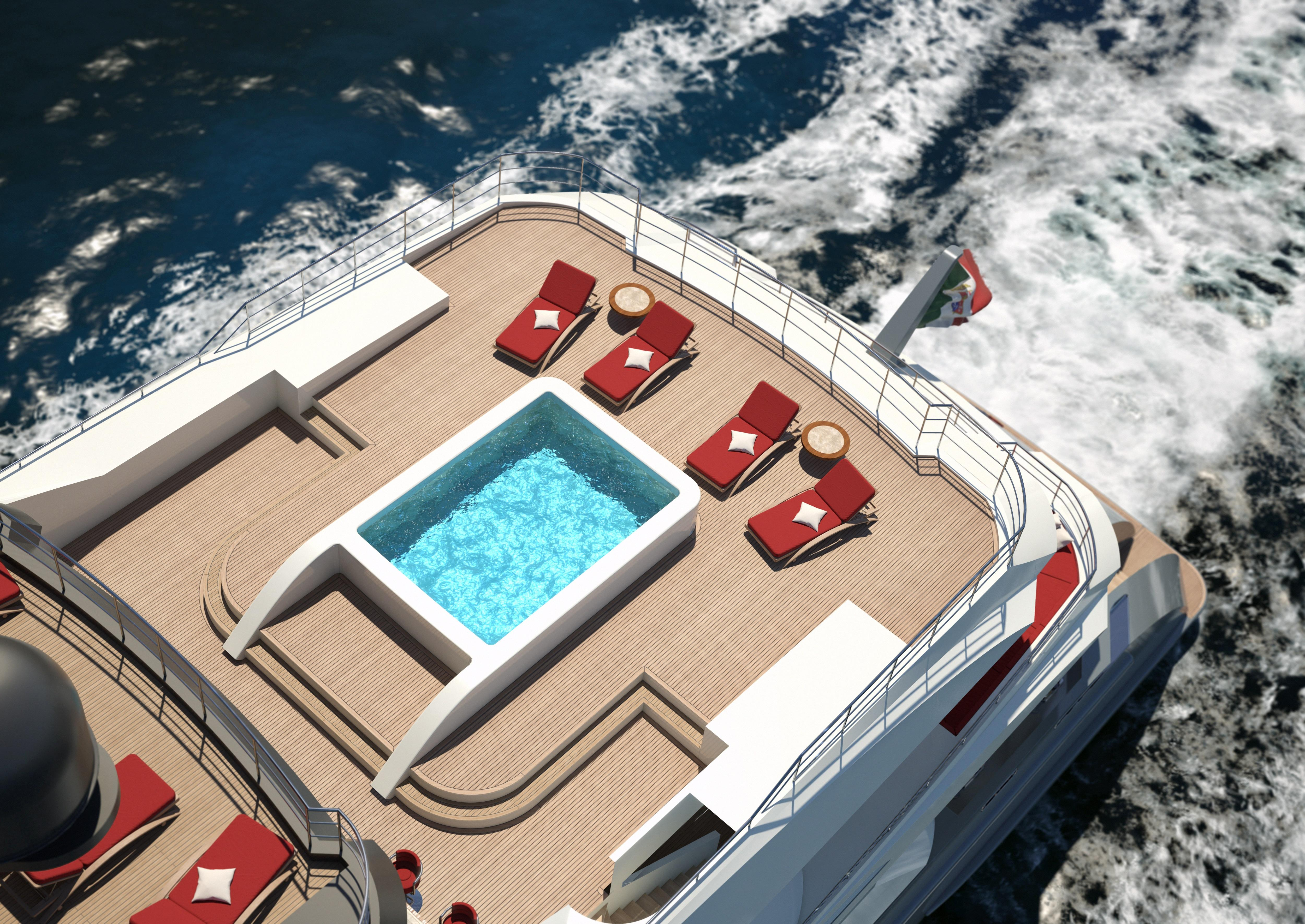 2014 Palumbo S.p.A. Motor Yacht Displacement Power Boat For Sale