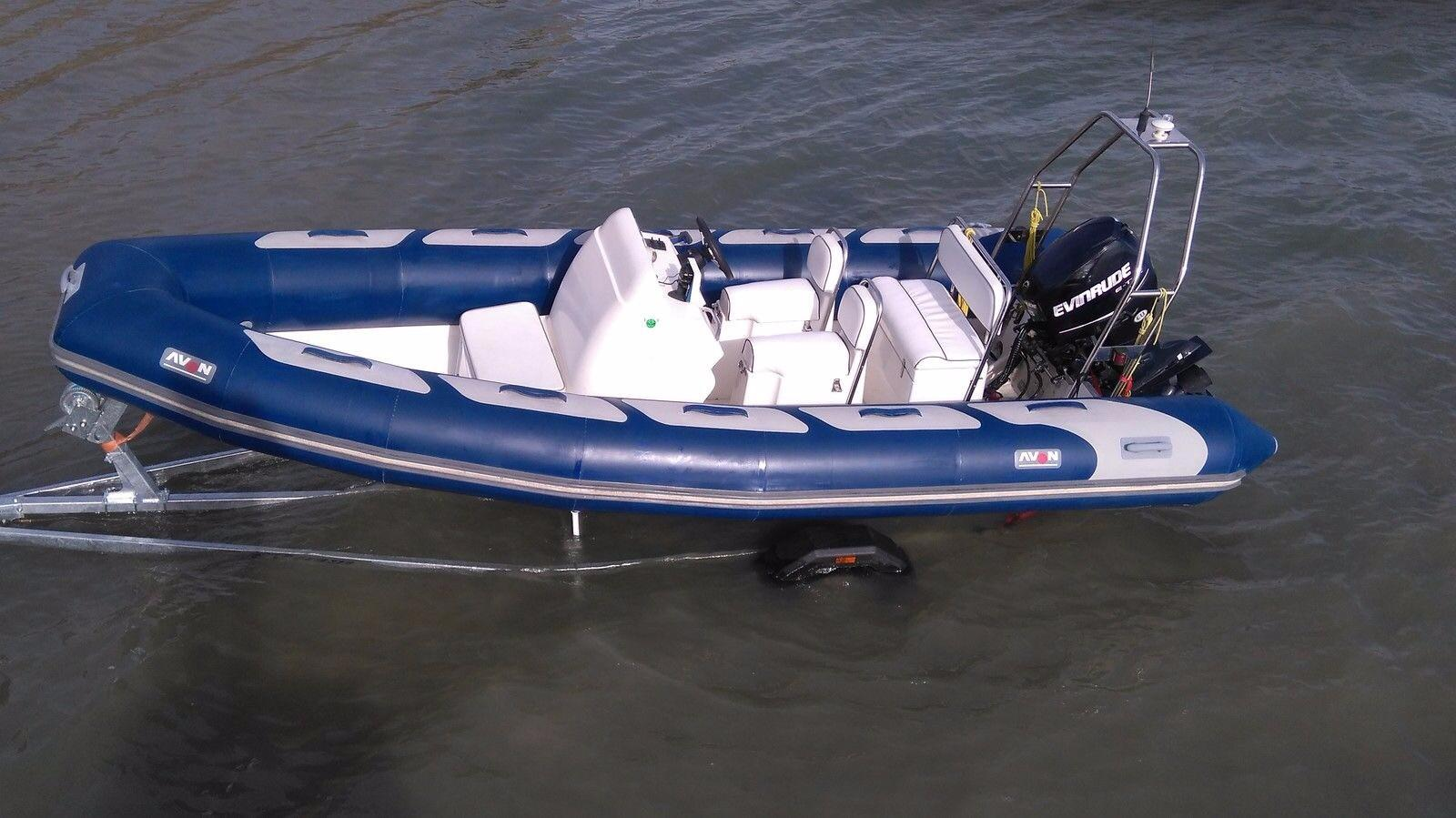 2005 Avon Adventure 560 Open Power Boat For Sale Www