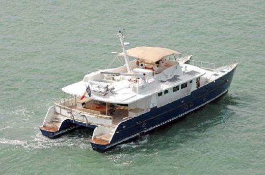 2008 Yacht Concept Tropic Composite Power Catamaran Long Range