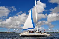 1982 Custom Glassbottom trimaran