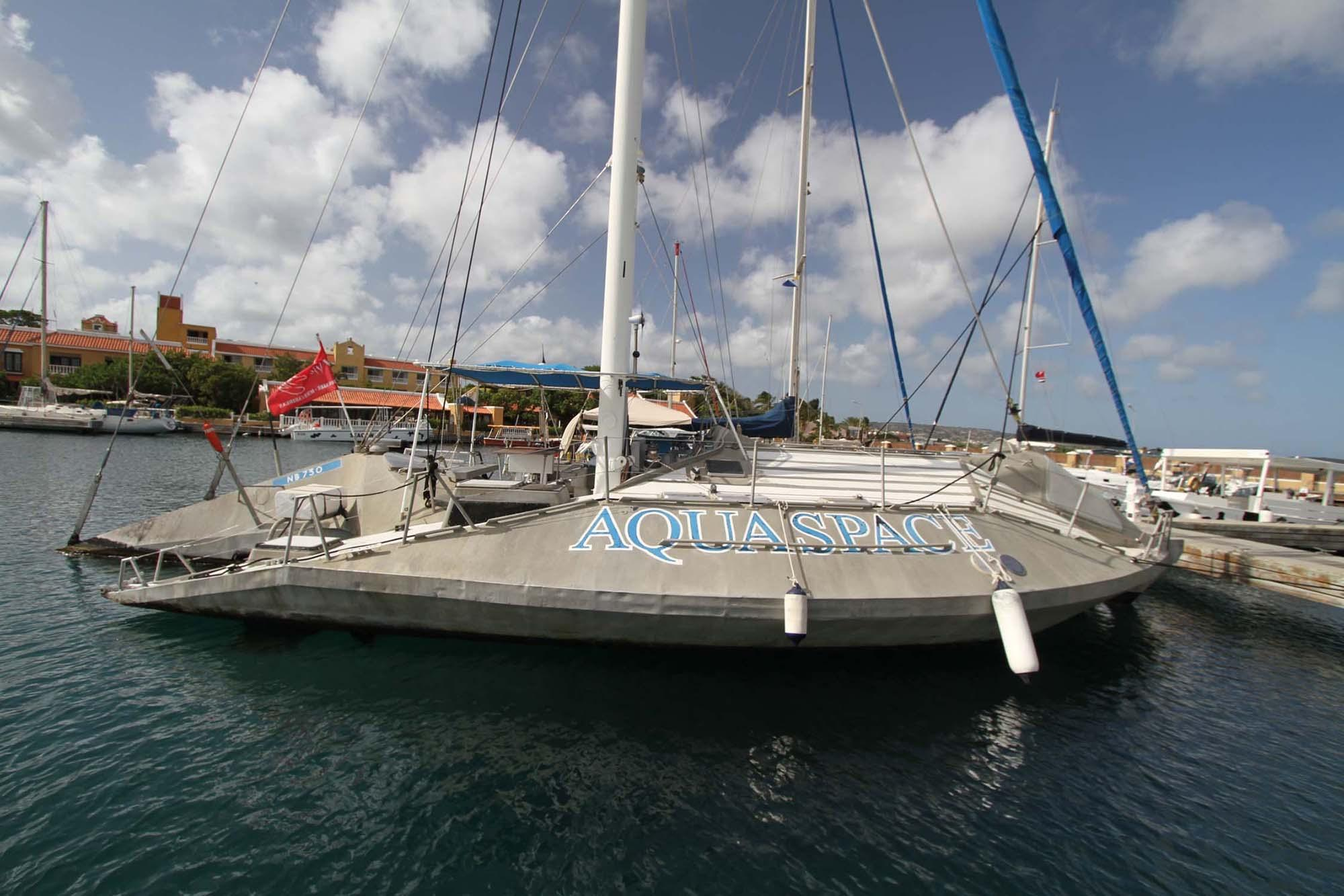 1982 Custom Glassbottom Trimaran Sail Boat For Sale Www