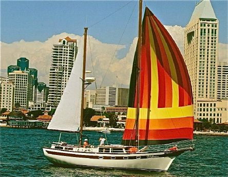 1978 Islander Freeport  ketch