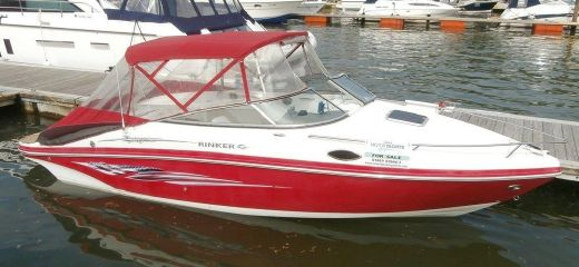 2008 Rinker 246 Captiva Cuddy Cabin Liberty Edition