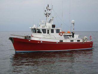 1988 Trawler Custom 62
