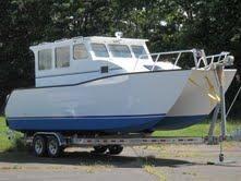 2012 Custom 28 Power Catamaran Explorer
