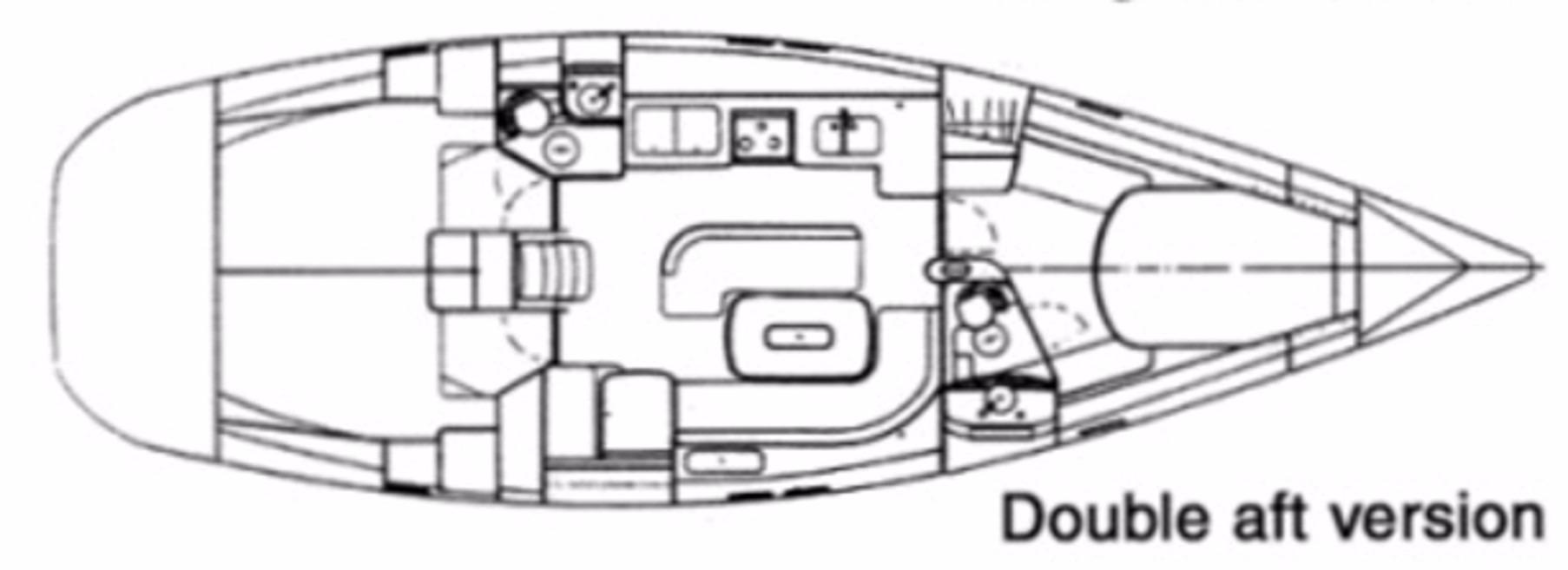 44' Beneteau Oceanis 440 Aft Cockpit Sloop+Cockpit