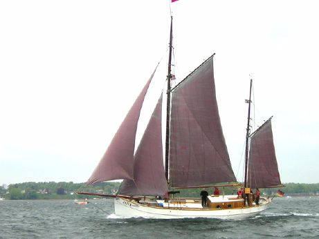 1918 Danish gaff ketch