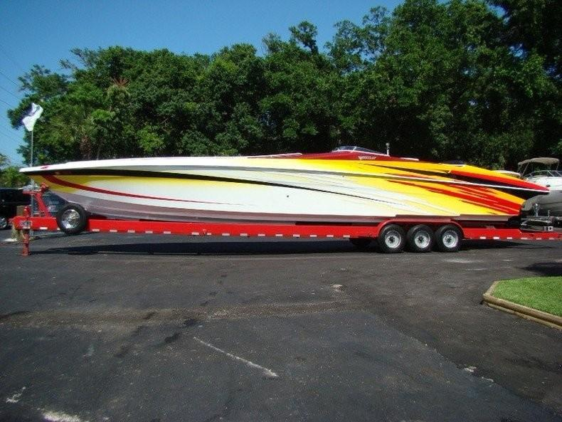 Apologise, but, Hustler 377 powerboat for sale