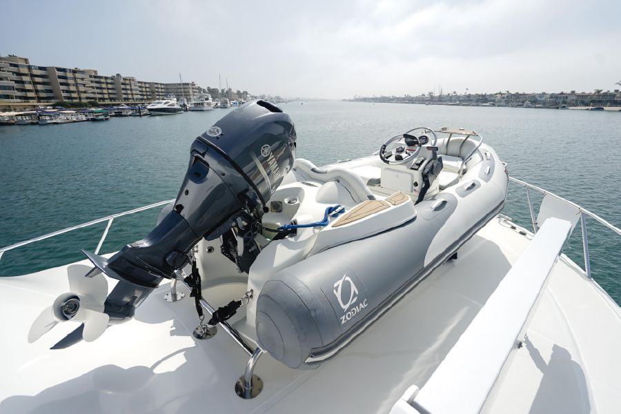 Cabo 47 Flybridge Bow for sale