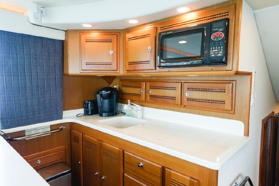 Cabo 47 Flybridge Galley