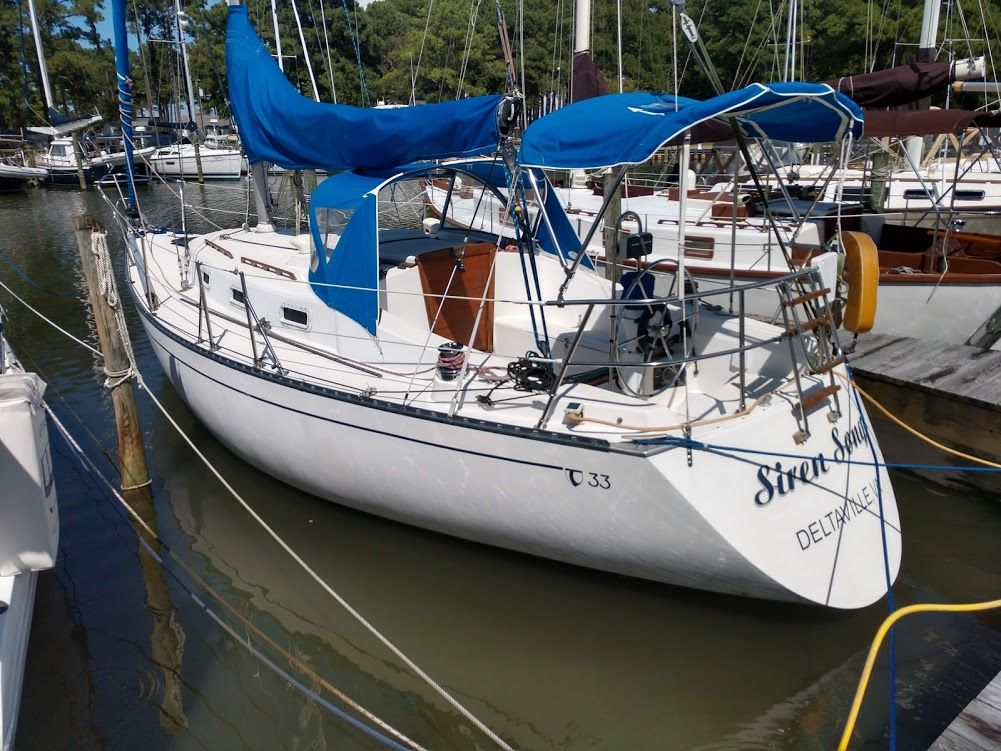 1986 Tartan Soverel 33 Sailboat Transport: 1980 Tartan 33 Cruiser For Sale
