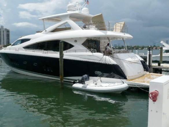 86' Sunseeker Yacht