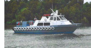 2001 Aluminum Crew Boat - 18 Passenger - Crew Supply Boat