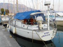 1984 Glacer 43 KS lift Keel Steel Boat