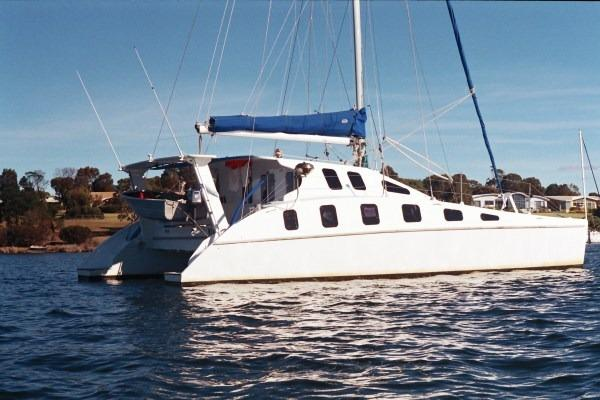 2007 custom easy modified sailing catamaran sail boat for sale