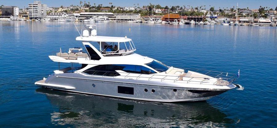 Azimut 66 Flybridge Yacht for sale in Newport Beach California