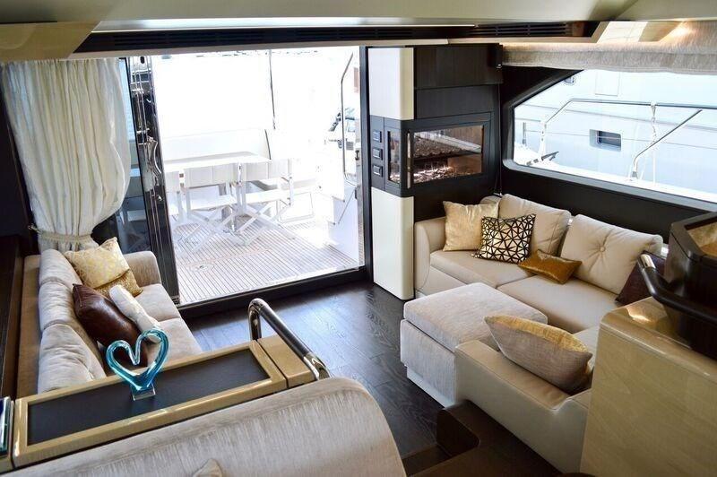 Azimut 66 Flybridge Luxury Yacht for sale in Newport Beach California