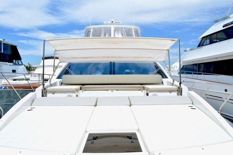 Azimut 66 flybridge for sale in Newport Beach California