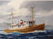 1930 Fisheries Patrol Boat