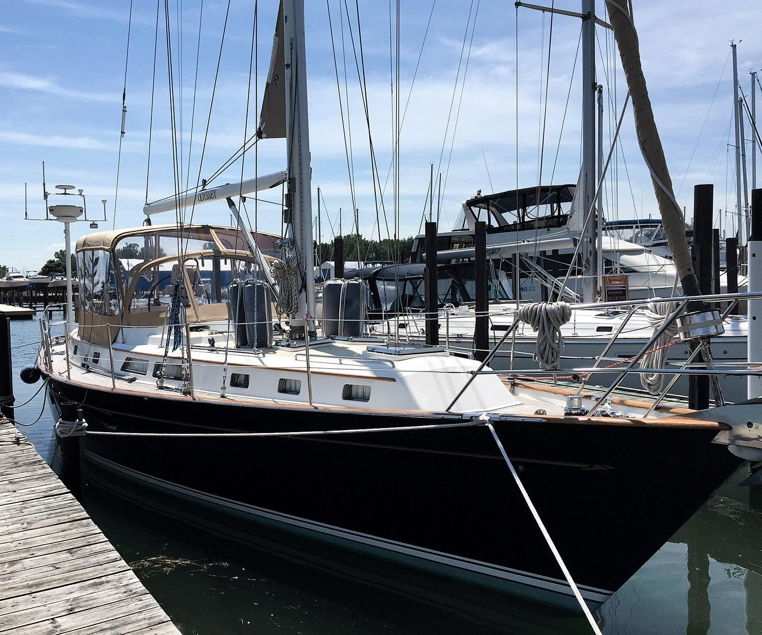 1996 Passport 470 Center Cockpit Sail Boat For Sale Www