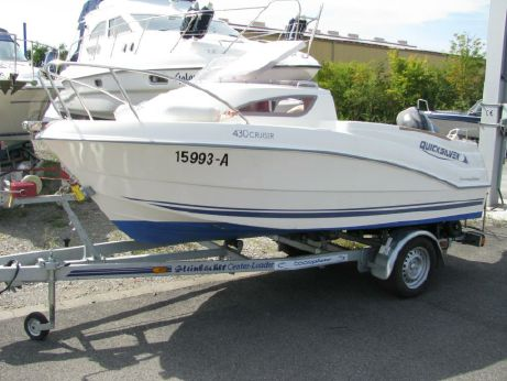 2010 Quicksilver 430 Cruiser