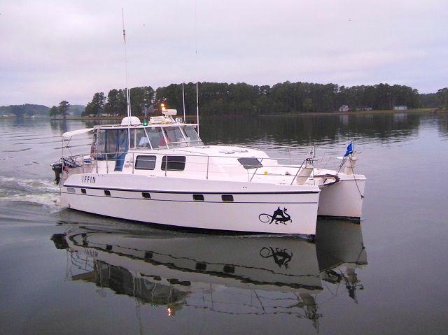 2006 endeavour 44 trawler cat