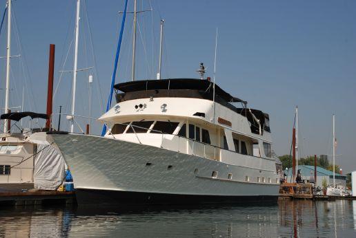 1975 Lars Halvorsen & Sons Bradford 72 Luxury Motor Yacht
