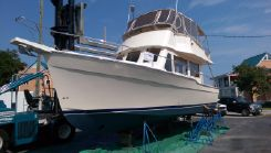 2005 Mainship 34 Flybridge Trawler Bow And Stern Thruster