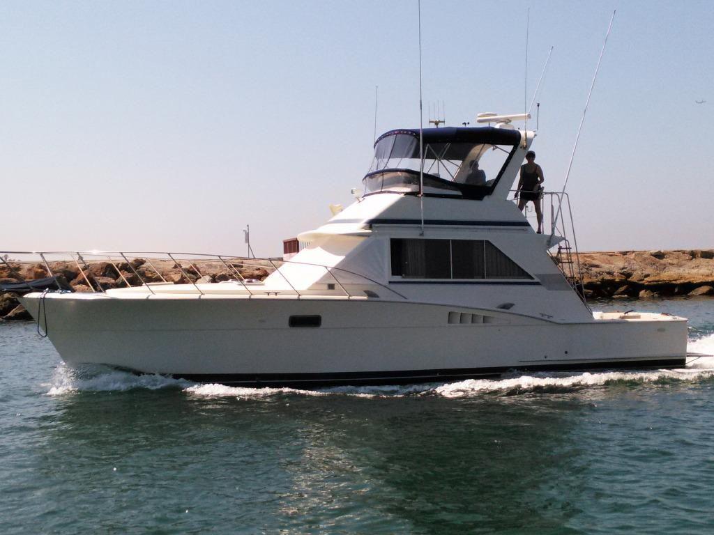1979 chris craft sport fisher sedan power boat for sale for Marina del rey fishing report
