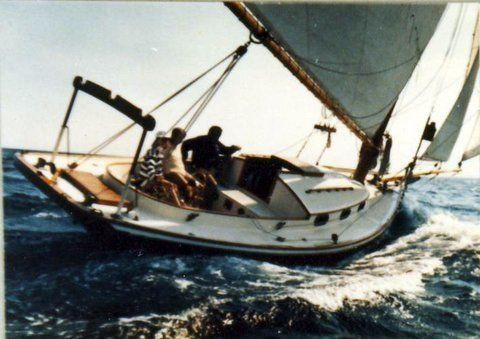 1979 Jarvis Newman Friendship Sloop
