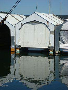 1980 Boathouse Aluminum Shed