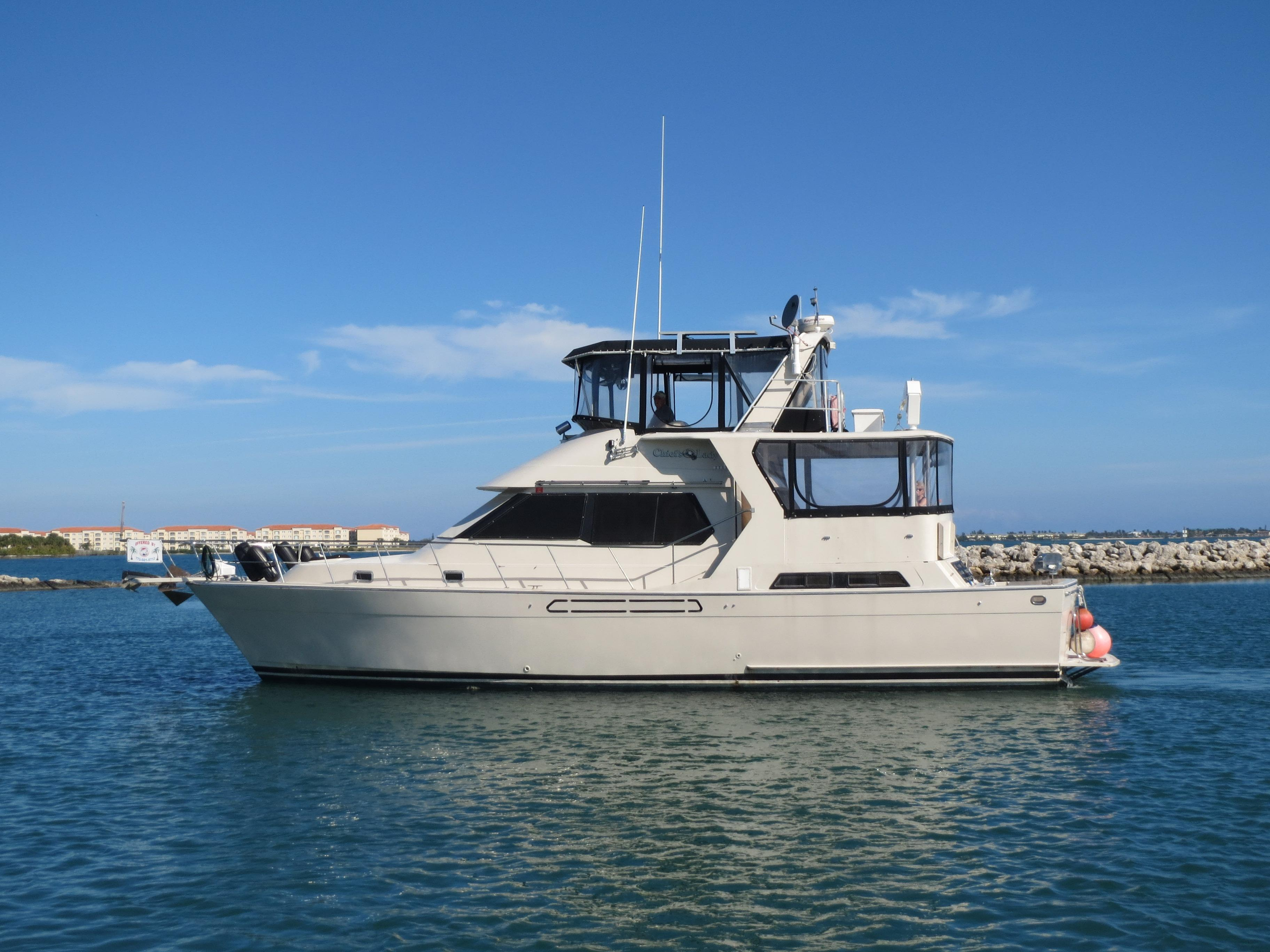 Boats For Sale In Michigan >> 1987 Angel Marine Trader 48 Cockpit Motor Yacht Power Boat For Sale
