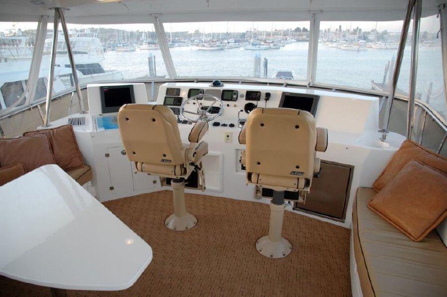 Mikelson 57 Sportfishing Yacht Flybridge