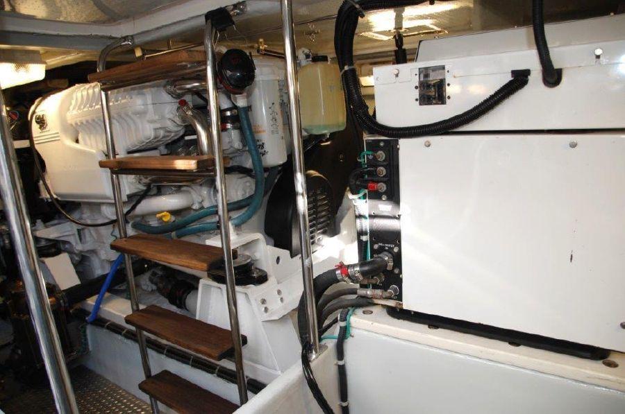 Mikelson 57 Sportfishing Yacht Diesel Engine