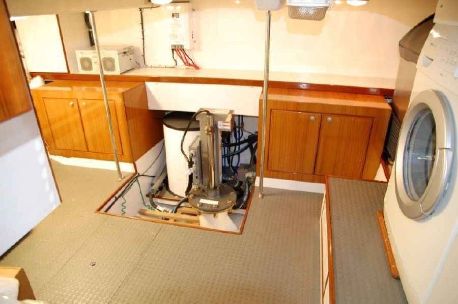 Mikelson 57 Sportfishing Yacht Utility Room