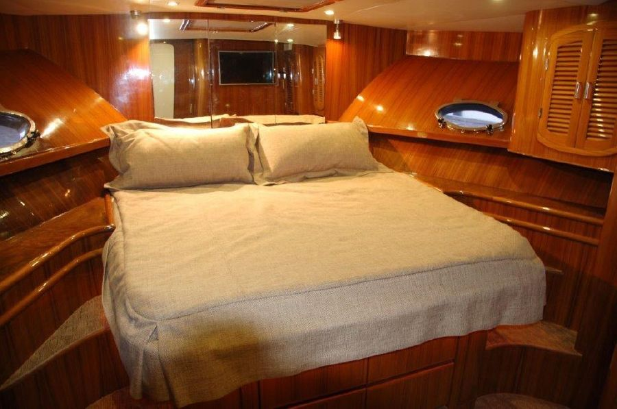 Mikelson 57 Sportfishing Yacht Master Stateroom