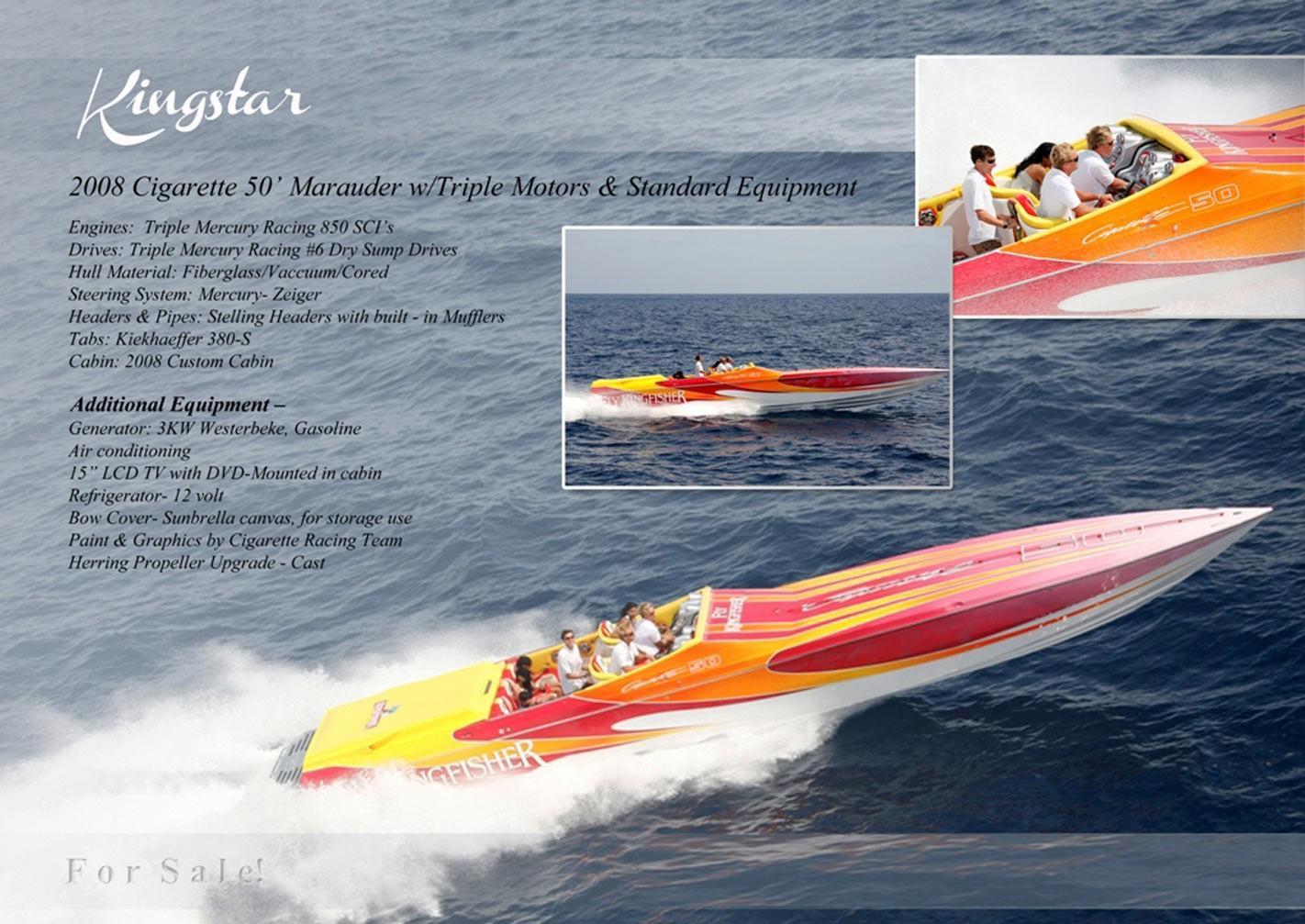 2008 Cigarette 50 Power Boat For Sale - www yachtworld com