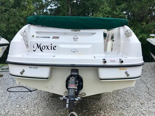 Image result for 1997 chaparral 250 sunesta transom