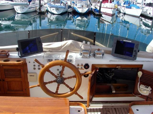 41' DeFever Passagemaker 41+Aft deck