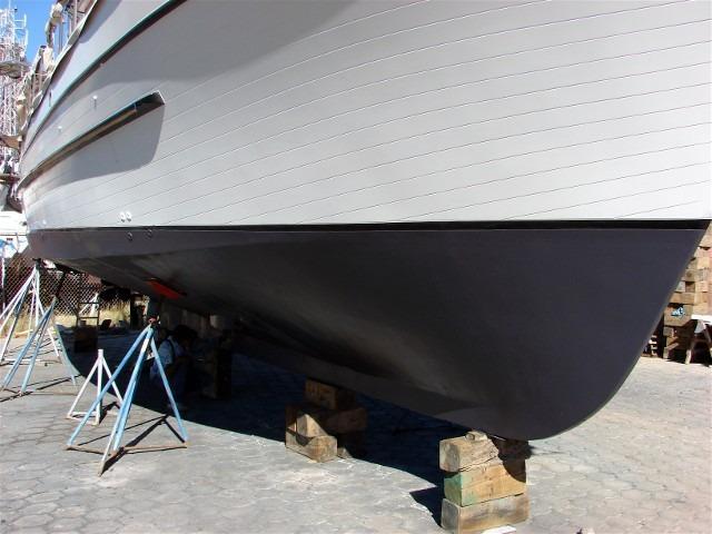 41' DeFever Passagemaker 41+Underbody, starboard