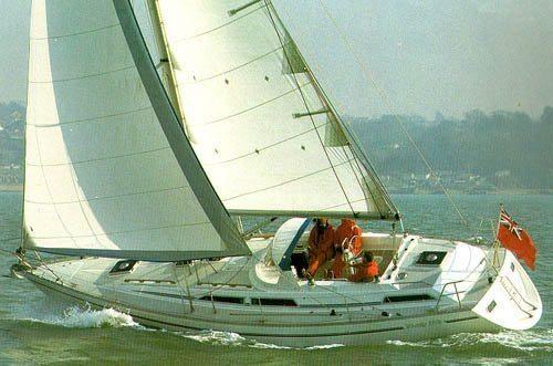 1987 Moody 376