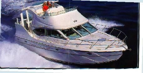 1997 Maxum 4100 SCA - FRESHWATER ONLY